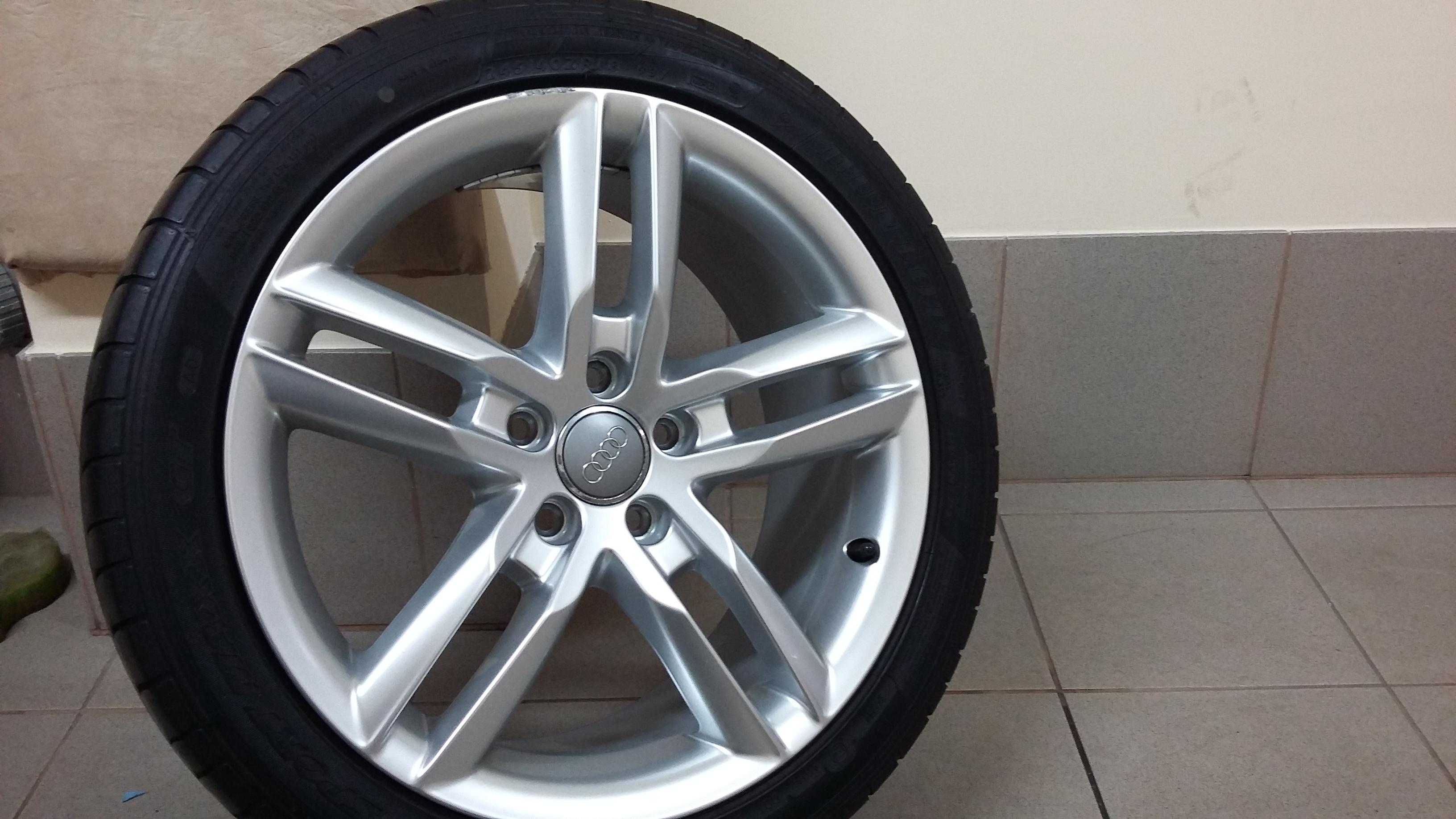 Felgi 18 Do A4 B8 Z Oponami Co Sądzicie O Nich Felgi Audi A4