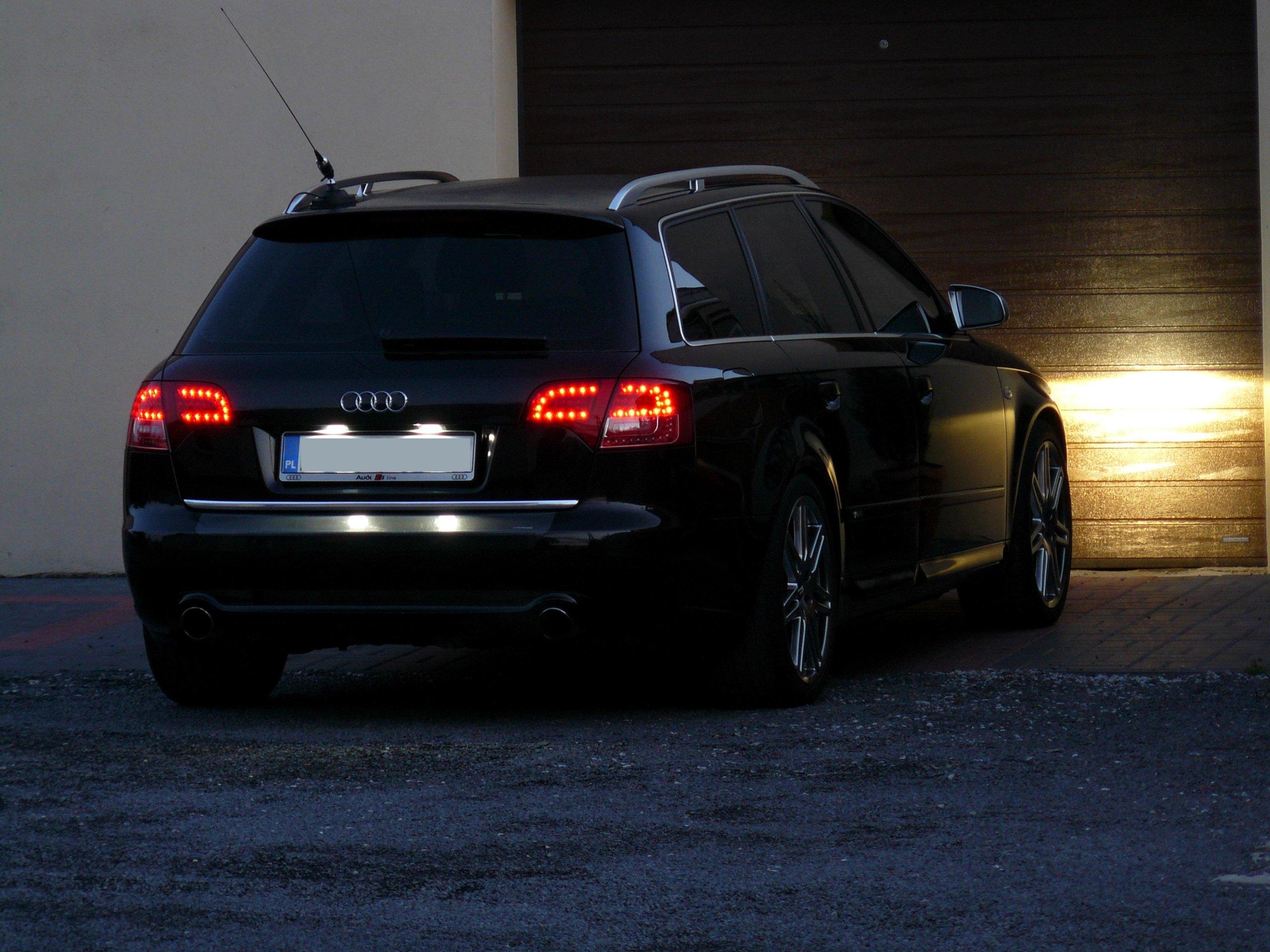 Lampy Led A4 B7 Avant Tył Audi A4 B7 Audi A4 Klub Polska