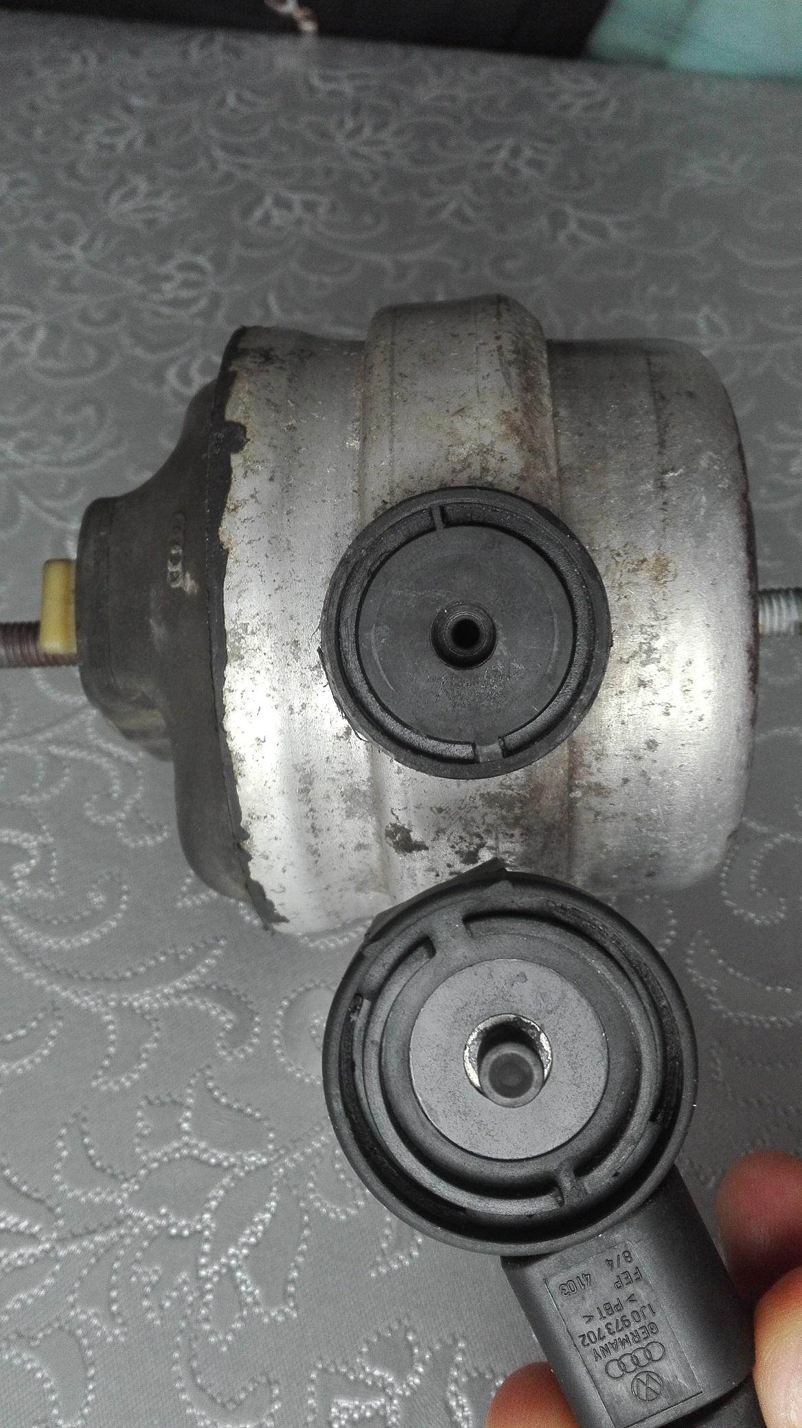 Bardzo dobra TDI PD] Poduszka Silnika Gumowo-Olejowa z Elektrozaworem (Błąd ZC21