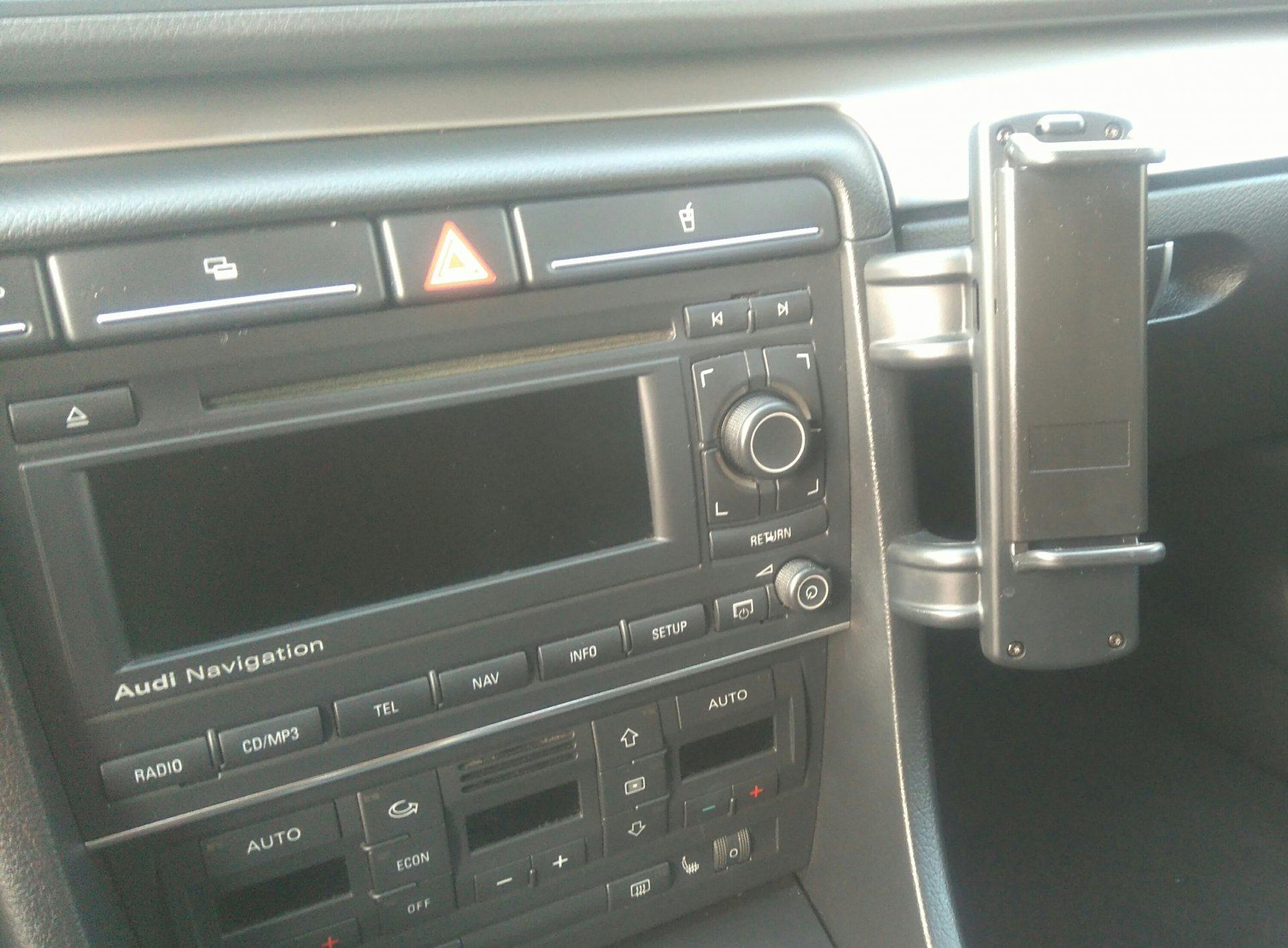 Niestandardowy Uchwyt Do Telefonu A4 B6b7 Audi A4 Klub Polska