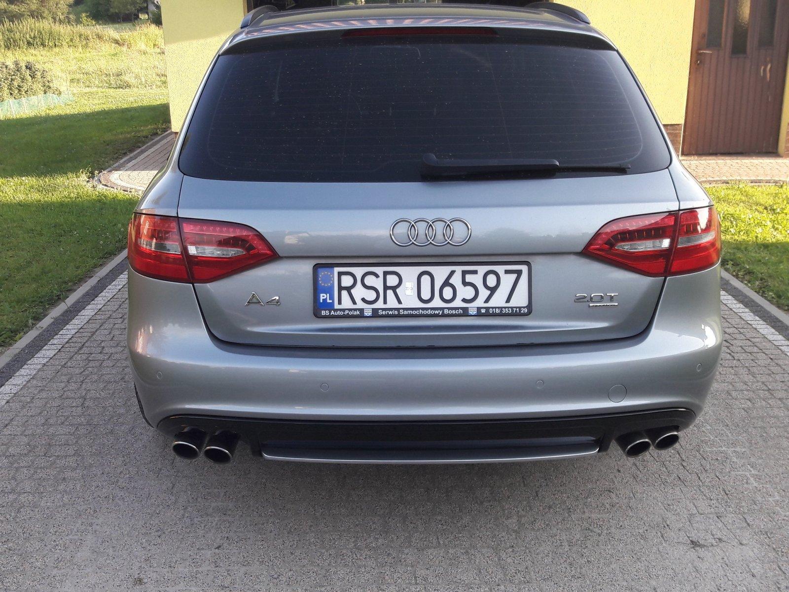 A4 b8 2 0tfsi a wydech od s4 Audi A4 B8 Audi A4 Klub Polska